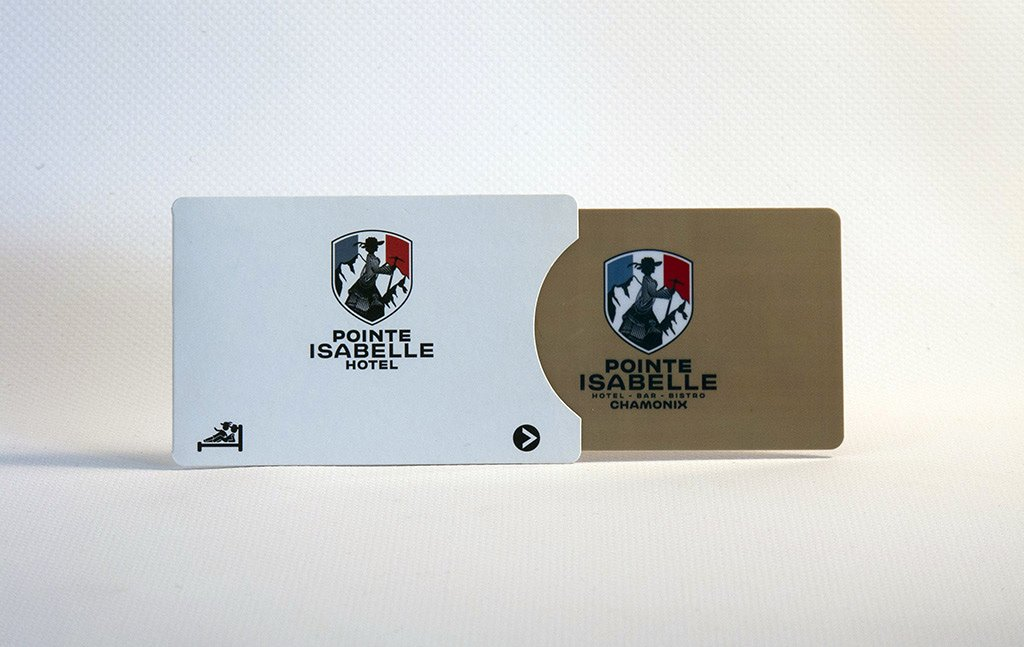 Pointe Isabelle<br />Card holder and card